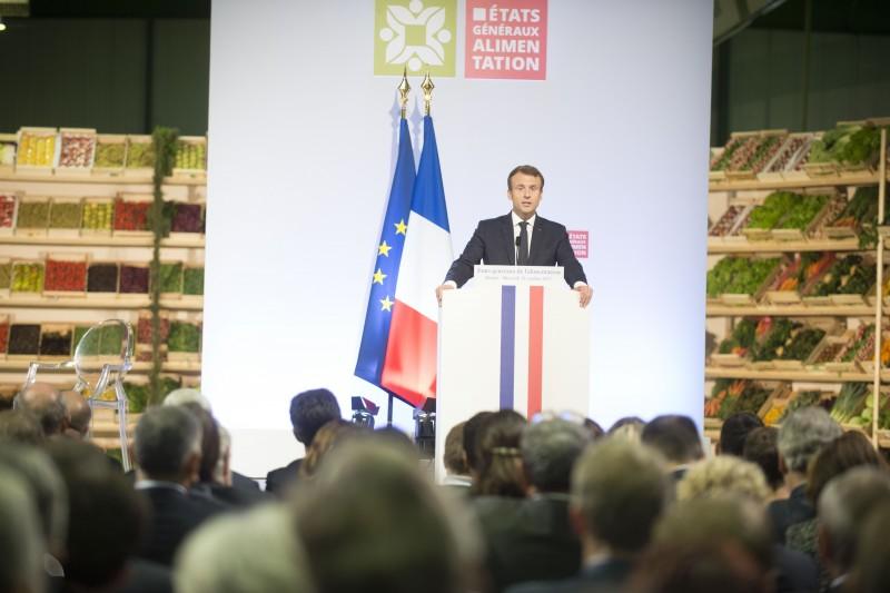 Etats généraux alimentation, Macron