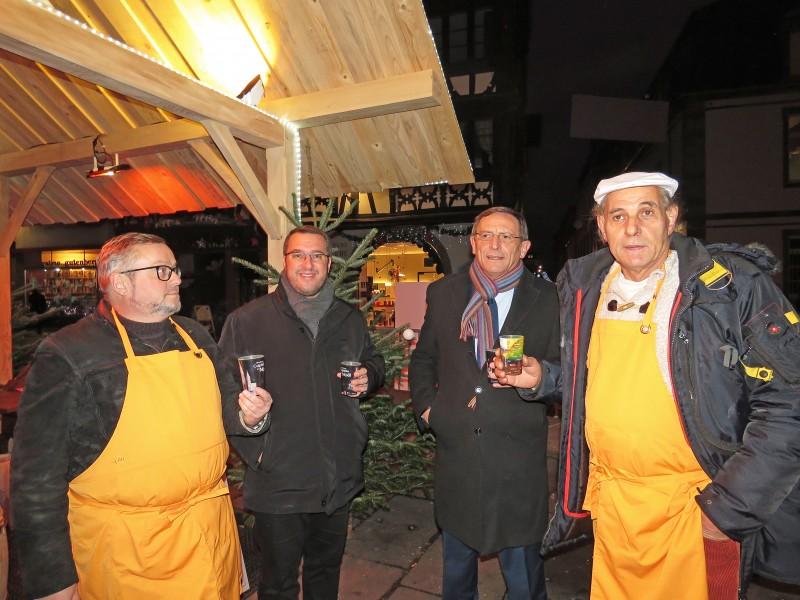 Marché Noël017- Tribu Gourmets Place St Etienne