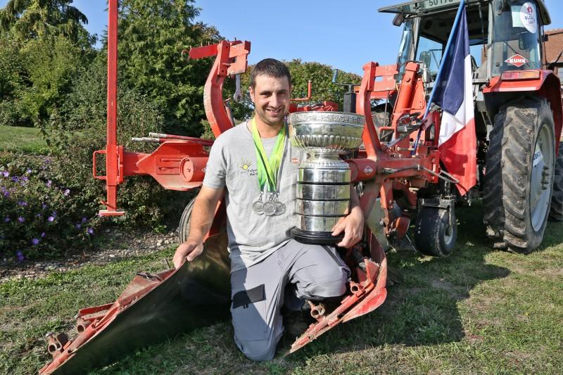Debes Thomas - Vice champion du monde labour - 07.