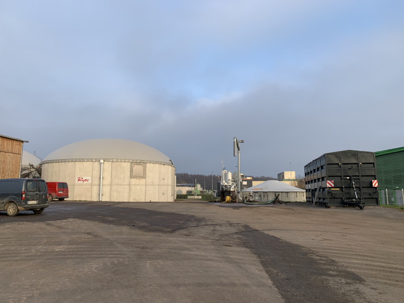 Méthane biogaz injection