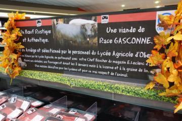 Viande bovine lycée agri Leclerc Obernai 061117DS