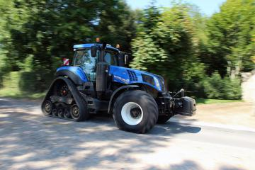New Holland, chenilles route